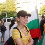 Активист от протеста