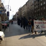 Централните улици взривени от активистите на БНС