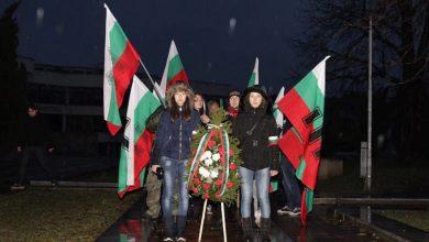 Photo of Почетохме генерал Христо Чаракчиев с шествие в Севлиево